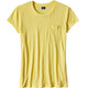 Patagonia W's Mainstay Tee Yoke Yellow